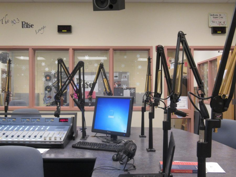 A view of one of the studios the WVPH utilizes.