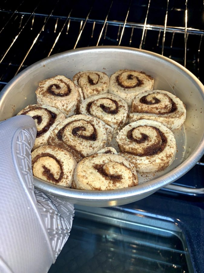 Remove the rolls from the oven (make sure you do not over bake them or they will be hard).