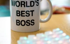 One of the most famous props from The Office is Micheal Scotts Worlds Best Boss mug, which fans can purchase recreations of, such as the one in the photo. Photo by Pablo Varela on Unsplash