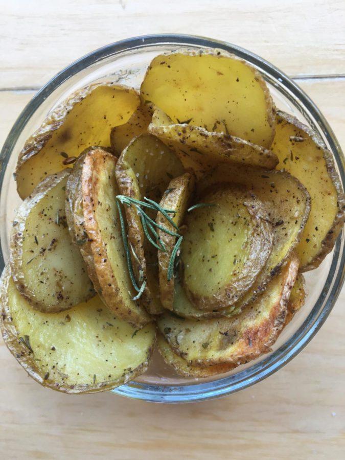 Herb and Garlic Potato Chips