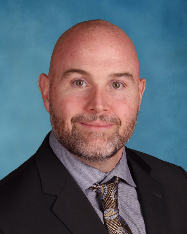 A picture of Mr. Baldassano, the new principal of Piscataway High School.