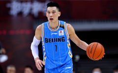 Jeremy Lin in one of his basketball games.